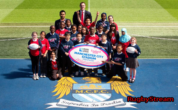 Rugby World Cup 2015 Manchester City Stadium England