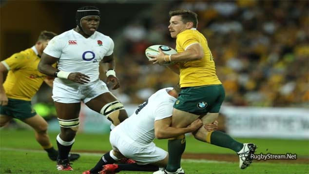 Australia 28 vs 39 England Rugby Results 11 June 2016