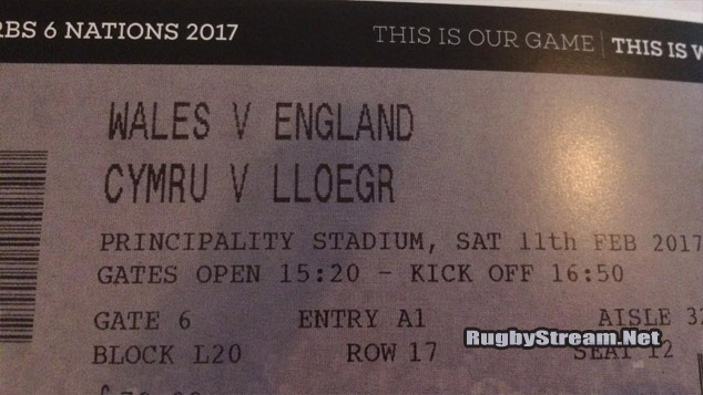 5 Ways To Get Rugby Tickets RBS 6 Nations 2017