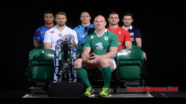 RBS Six Nations 2017 Fixtures TV Schedule