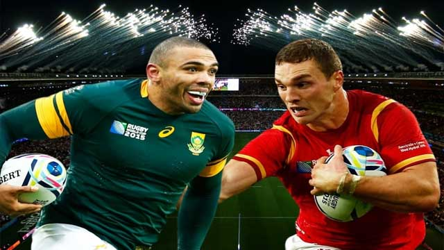 South Africa vs Wales Rugby