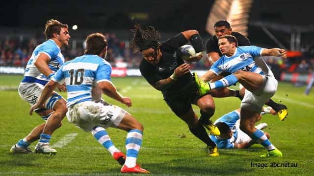 All Blacks vs Argentina Rugby 2018