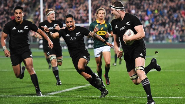 All Blacks vs South Africa Rugby