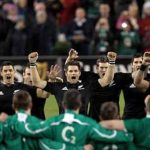 All Blacks at Irish Rugby