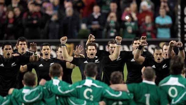 All Blacks at Irish Rugby
