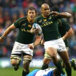 Springboks at Scottish Rugby Fixtures 2018