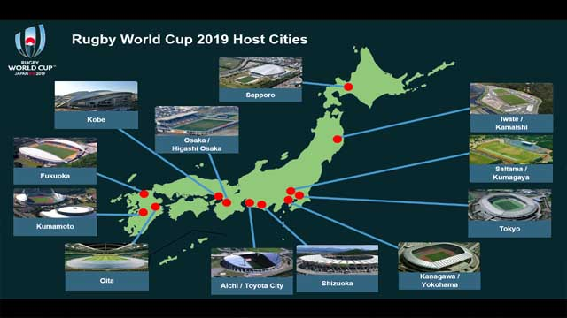 Japan Rugby World Cup 2019 Venues